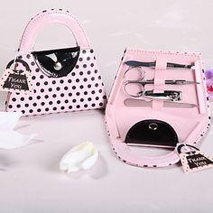 Pink Purse Manicure Kit Wedding Favor – CAD $ 2.77