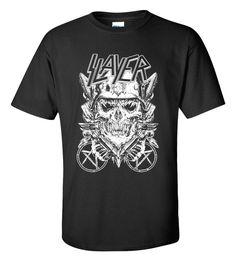 SLAYER Heavy Metal Legend Men's Gildan T-shirt M/L/XL/2XL/3XL Clothing Tshirt