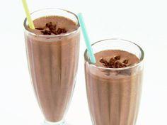 Chocolate Almond Milkshakes