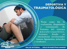 La fisioterapia traumatológica y deportiva es una especialidad que tiene como fin la evaluación, diagnóstico y tratamiento de lesiones del sistema músculo-esquelético. ¡Te esperamos en Grupo Fisioterapéutico Integral para ayudarte! #GrupoFI