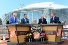 ESPN College Game Day coming to South Bend October 13, 2012.  Whoo Hoo.... Can't wait!  GO IRISH!