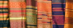 Bring home some colourful Thai silk, pick up some bargains at the local markets.  What would you make this beautiful fabric into?