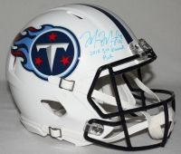 "MARCUS MARIOTA Signed LE Titans Full-Size Authentic Pro-Line Speed Helmet Inscribed ""2015 1st Round Pick"" STEINER COA LE 8 - Game Day Legends"