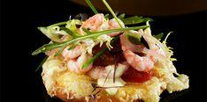 Jarlsberg® Mini-Pizza mit Garnelen - http://www.jarlsberg.com/de/recipes/mini-pizzas-with-shrimps
