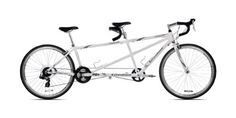 Giordano Viaggio Tandem Road Bike (White Pearl) - http://www.bicyclestoredirect.com/giordano-viaggio-tandem-road-bike-white-pearl/