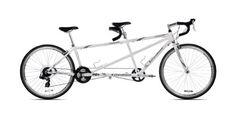 Giordano Viaggio Tandem Road Bike (White Pearl) - http://www.bicyclestoredirect.com/giordano-viaggio-tandem-road-bike-white-pearl/