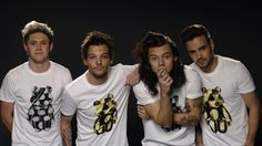 See One Direction support Children in Need Four One Direction, One Direction Pictures, Direction Quotes, Larry Stylinson, Zayn Malik, Niall Horan, Louis Y Harry, Ac2, On The Road Again
