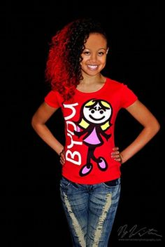 www.ShopBYOU.com - Cymphonique - BYOU self-esteem products promotes positive self-confidence to young girls and teens. Be Your Own You apparel includes Cymphonique Signature series for teens.     Great Site Helping PeopleBuild confidence. Cymphonique Miller, How To Gain Confidence, Self Esteem, Teen, Rock, Celebrities, Girls, Products, Fashion
