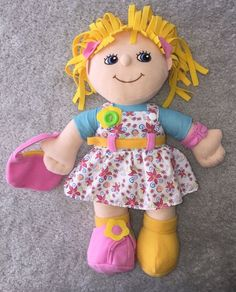 Teach Me - Learn To Dress Dolls - geniusbabies.com