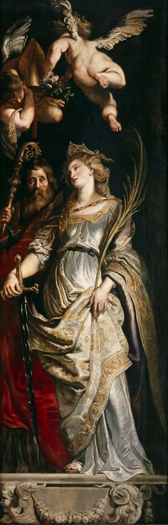 Sts Eligius and Catherine Peter Paul Rubens