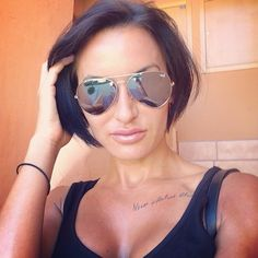love @DailyHiitLisa!! hot sunglasses and hair