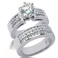 2.35 Karat Diamantringe *Exclusivset No.18*