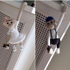 Monkey, Deco, Crochet, Monkeys, Threading, Pet Dogs, Jumpsuit, Decor, Ganchillo