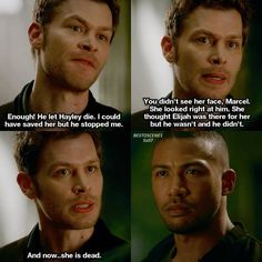Marcel sees how much Klaus loved her and how much he is hurt. Vampire Diaries Quotes, Vampire Diaries The Originals, Delena, Marcel The Originals, Legacy Quotes, The Orignals, Original Vampire, Film Serie, The Cw