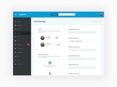 Shoptt Dashboard Design