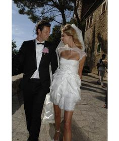 Emilio pucci bridal dress