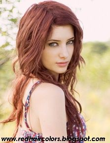 Red Hair Color,Hair Coloring