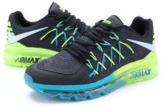 Nike Air Max 2015 Blue Black Green0