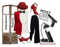 She is Philip Marlowe Raymond Chandler, Malone Souliers, Smith Wesson, Carven, Balmain, The Row, Polyvore Fashion, Fashion Trends, Clothes