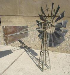 Antique Samson Model Salesman's Sample Windmill by Stover Freeport Illinois   eBay