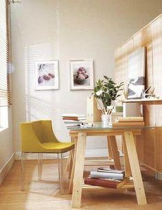 Cavaletes de madeiras - mesas, secretárias, e muita imaginação   Wood Second Chance