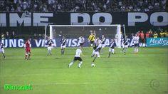 Defesaça de Cássio no chute de Diego Souza - Libertadores 2012 - 23/05/2012 - Globo HD