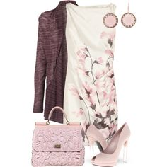 Dreaming of Spring by yasminasdream on Polyvore featuring Valentino, Vero Moda, Alexander McQueen, Andrea Fohrman and Dolce&Gabbana
