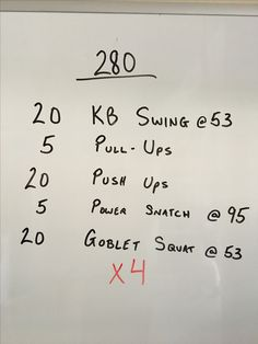 Workout from the garage.
