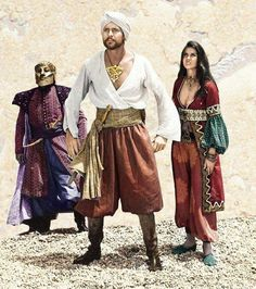 sinbad now the guy in the face mask isnt exactly sp Arabian Nights Costume, Arabian Nights Party, Sinbad The Sailor, Character Inspiration, Character Design, Sailor Costumes, Fantasy Costumes, Looks Cool, Diy Costumes