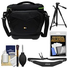 Case Logic Kontrast KDM102 DSLR Camera Shoulder Bag with Tripod  Sling Strap  Kit >>> Visit the image link more details. (Note:Amazon affiliate link)