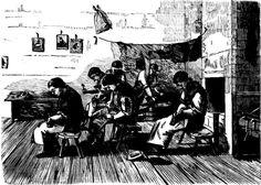 Darlinghurst Prison - The Shoe-Making Room - 1866
