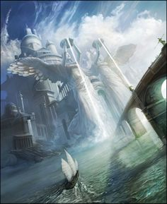 Cultures of Nerath by sam burley - epic sci fi and fantasy city