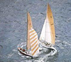 Circling US43/KA6 Newport America's Cup 1983