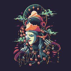 Tari Topeng on Behance Psychedelic Drawings, Monkey Art, Indonesian Art, Mandala Canvas, Robot Concept Art, Japan Art, Mural Art, Illustrations And Posters, Graphic Design Art