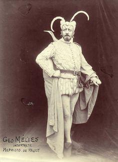 unbearabilityofbeauty:  George Melies French film pioneer circa 1909