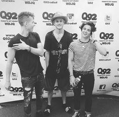 James, Tristan and Bradley