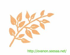Theme is autumn. the green leaves would change to brown.