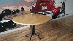 Madera Maciza – JCea Table, Furniture, Home Decor, Wrought Iron, Solid Wood, Mesa Redonda, House Decorations, Decoration Home, Room Decor