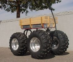 Monster Wagon | think the Brits already have a tactical towed Wheelbarrow. With a ...