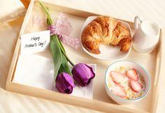 Завтрак в постель для любимых