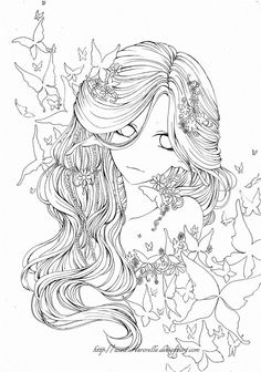 Leilah's Elf Version Experimenting a little bit with style~ It's free to color, but please link back to my profile. And I would like to see it, so please post the link of your version in a comment/...