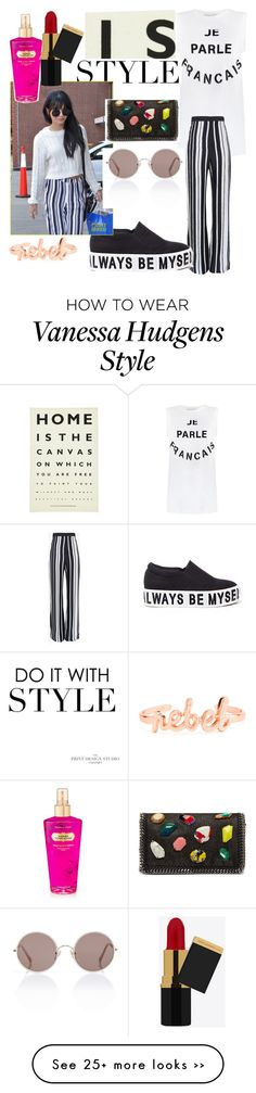 """""""Inspired Style: Vanessa Hudgens In New York"""" by teenpage21 on Polyvore"""