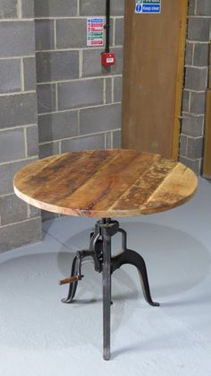 Vintage/Retro Industrial Crank Dining Table in Home, Furniture & DIY…