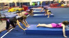 The Panel Mat Relay Race (Gymnastics/Fitness/Games)