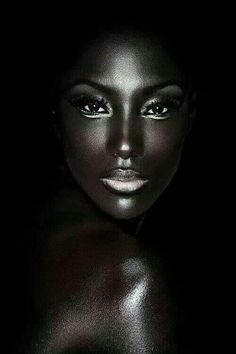 Beautiful face and skin The article attached was pin onto Black America