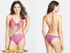 BILLABONG Women Seventy Three Aloha Cutout One-Piece Swimsuit NEW NWT #Billabong…