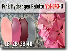 Pink Hydrangea Color Palette by Polymer Clay Tutor