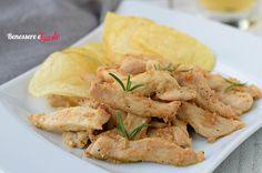 Straccetti di pollo alla birra, teneri e gustosi dal sapore particolare. Un secondo piiatto fcile e veloce per cucinare il pollo in modo diverso