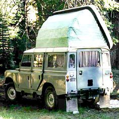 camping in a landrover - Google Search