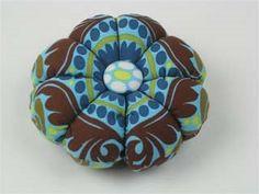 Imagine Fabric Blog: How to make a fabric pin cushion Imagine Fabric
